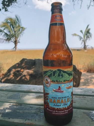 Beach Poke + Beer