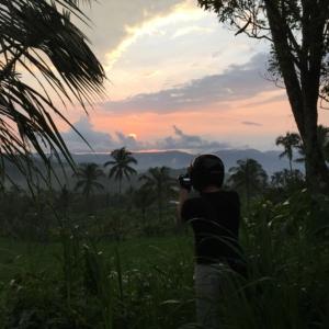 Wir können einfach nicht genug bekommen - von der Natur, von den Sonnenuntergängen, von den Farben - und von Fotos =)