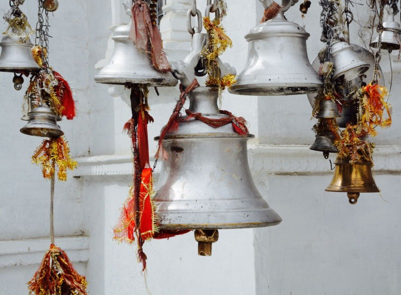 Gangotri-Tempel-Glocken
