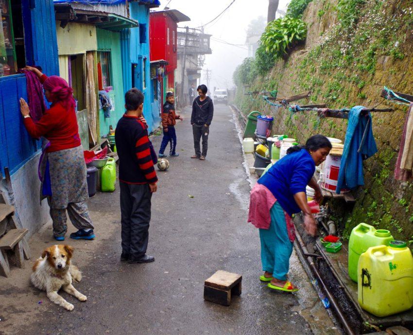 Darjeeling-Indien-City