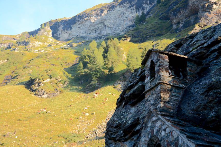 Osttirol Hohe Tauern Gschlösstal Felskapelle