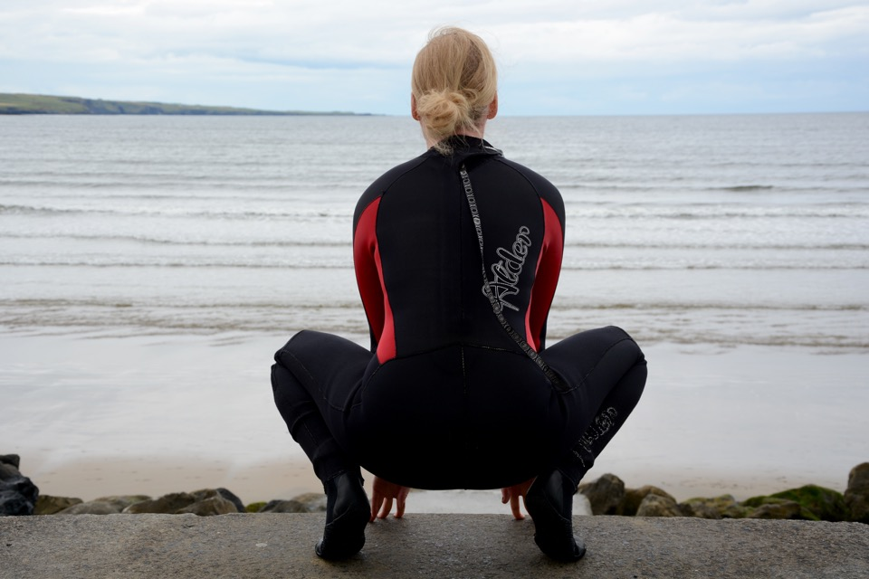 Reisen 2016 Irland Lahinch Surfen