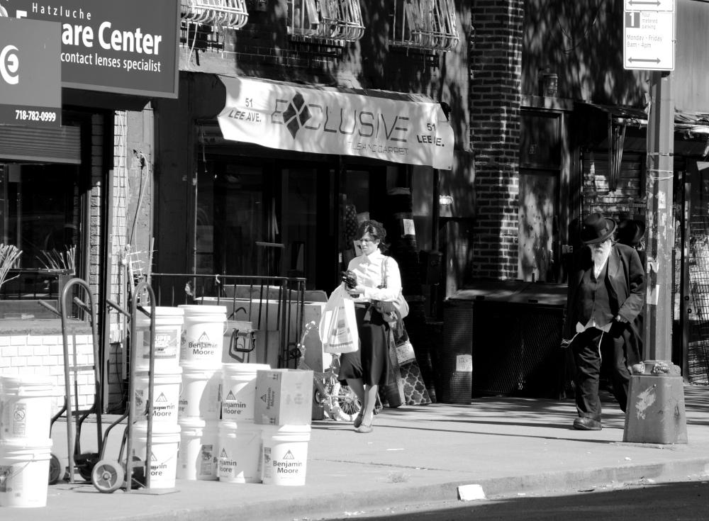 New York Brooklyn Williamsburg Chassidische Juden
