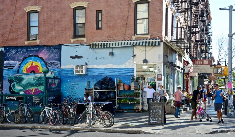 New York Brooklyn Williamsburg Bedford Avenue