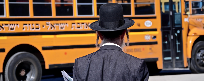 New York Brooklyn Williamsburg Hasidic Jews