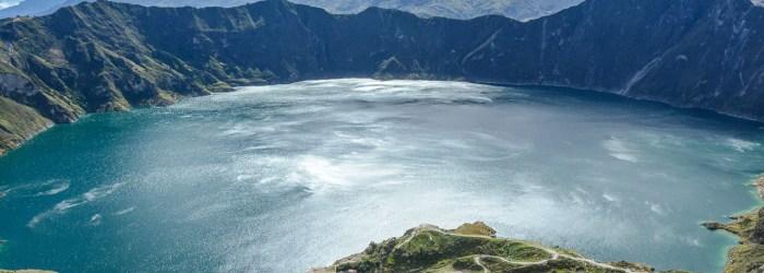 Traveling the World Ecuador Anden Wandern Quilotoa