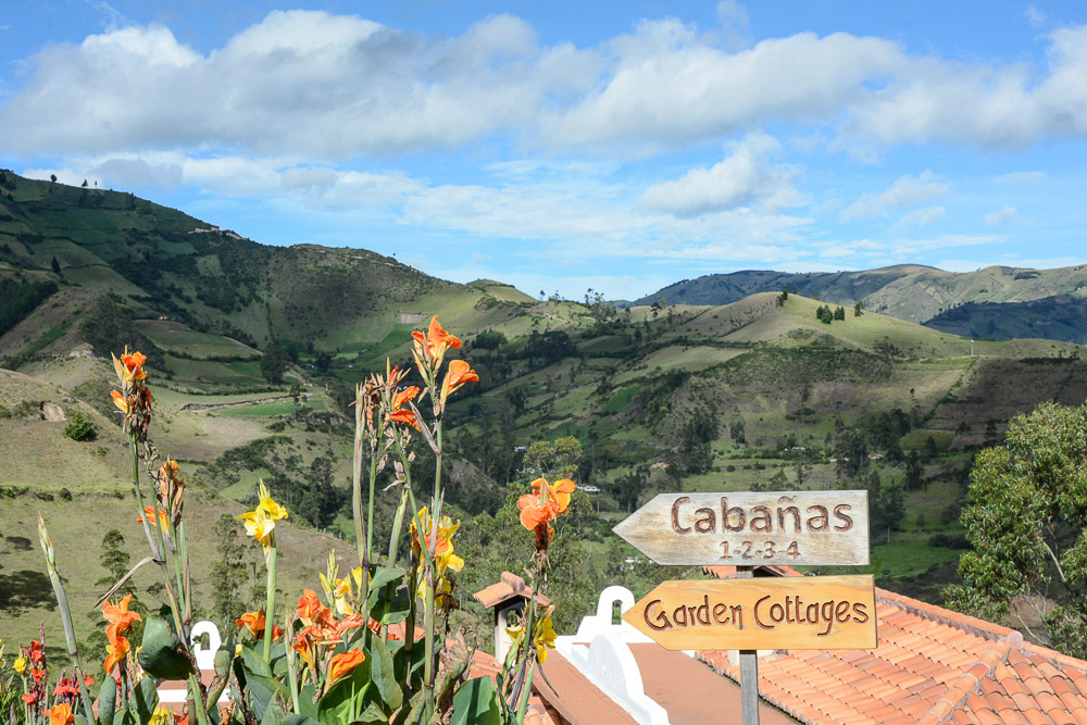 Traveling the World Ecuador Wandern Quilotoa Loop Anden Hostal Llullu Llama Garden Cottages