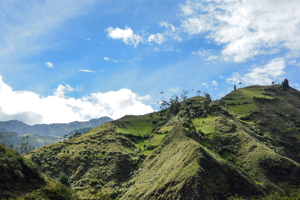 Traveling the World Ecuador Wandern Quilotoa Loop Anden