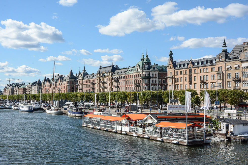 Traveling the World Tallink Silja Stockholm Strandvägan