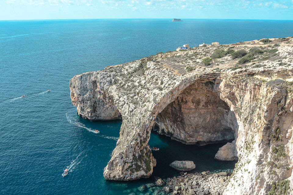 Traveling the World Malta Blue Grotto