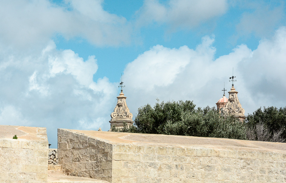 Traveling the World Malta Mdina City Wall