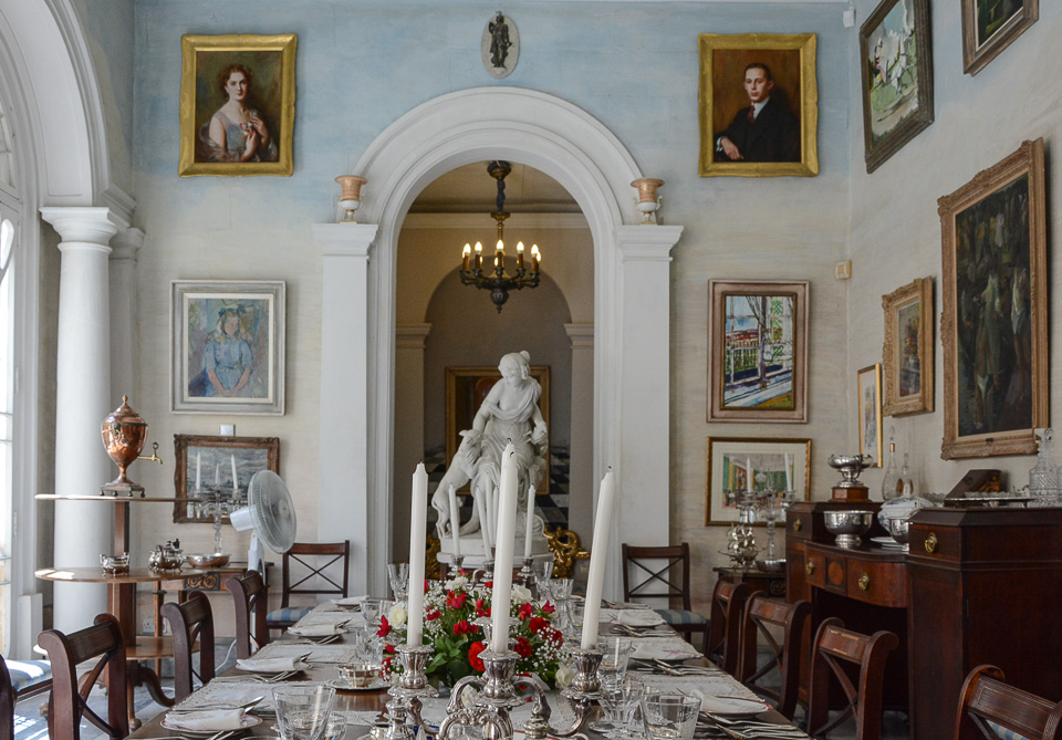 Traveling the World Malta Valletta Casa Rocca Piccola Dining Room