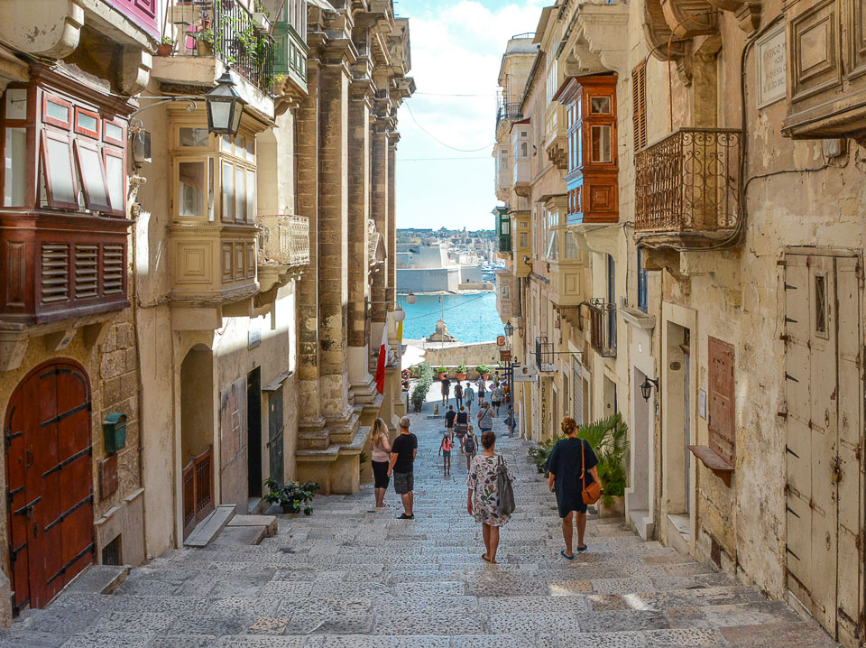 Traveling the World Malta Valletta Streets