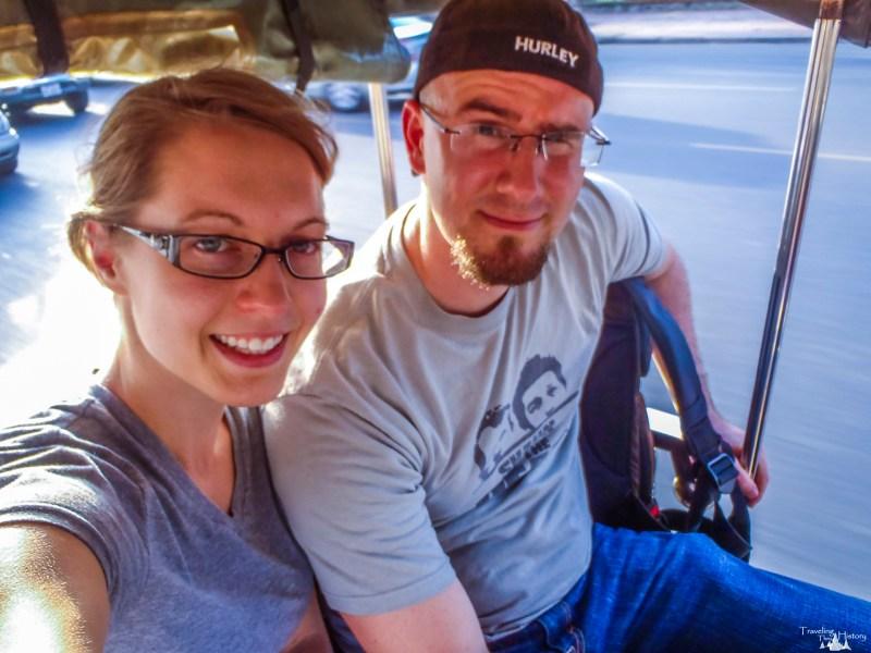 Erin & Troy in Cambodia