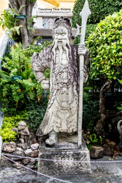 Mythical Chinese warrior guardian