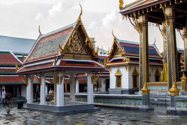 One of the ten Sala Rai (pavilions) surrounding the Temple of the Emerald Buddha