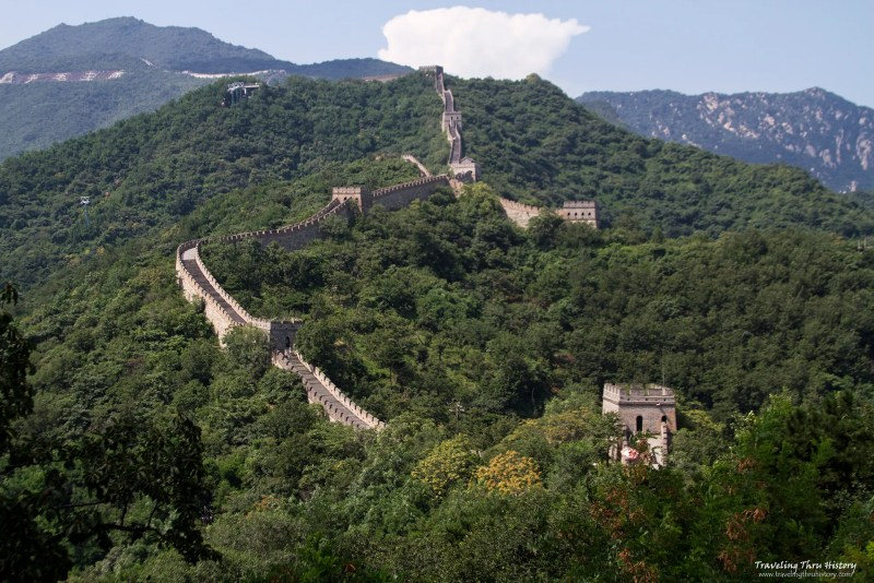 The Mutianyu section of the Great Wall of China is one of the best-preserved and most beautiful sections of the Wall. It is located in the Huairou District of Beijing and is also home to a famous resort, the Xin Shuang Quan Resort.