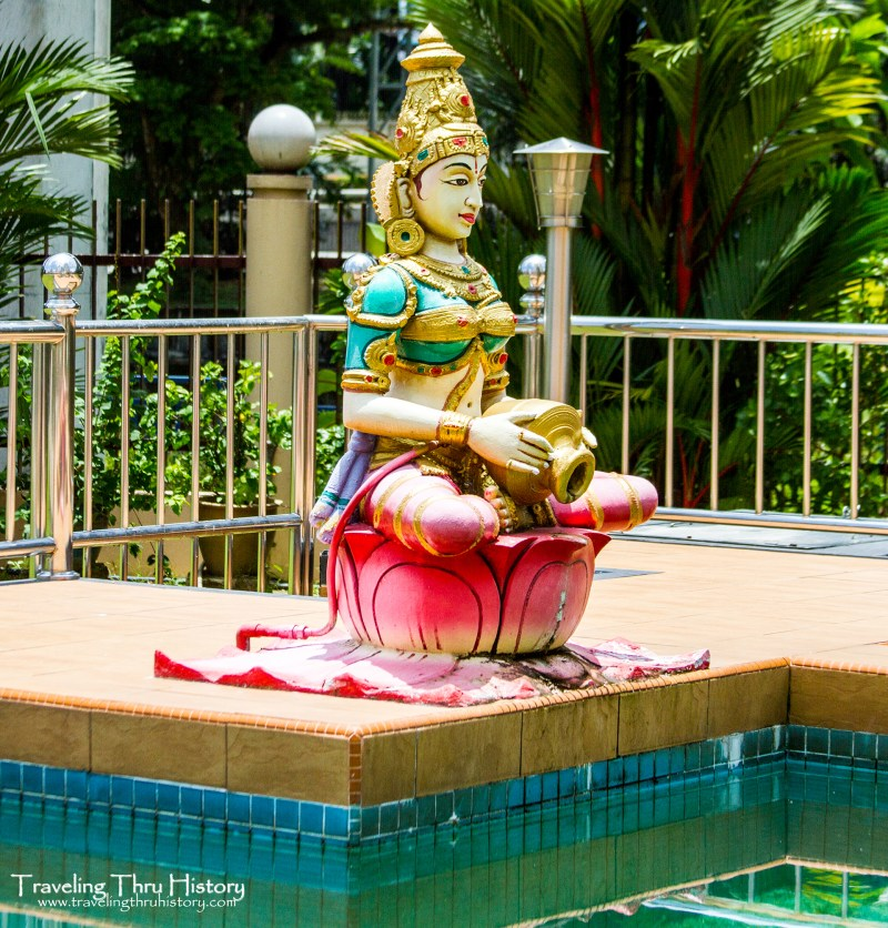 Sri Kandaswamy Kovil was built in 1902 to service the Ceylon Tamil Hindu Community and allow them to practice Saiva Siddhantha in Brickfields, Kuala Lumpur, Malaysia.