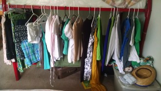 For my summer Capsule wardrobe I chose white and green and then added other colors as I saw fit.