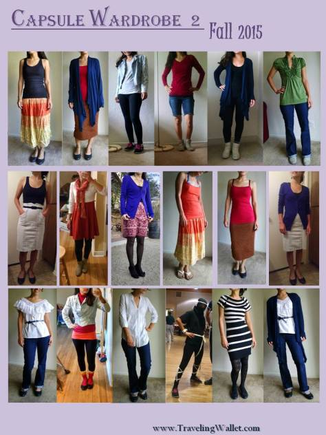 2015 Fall Capsule Outfits