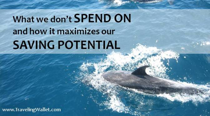 What we don't spend on, and how it maximizes our Saving Potential