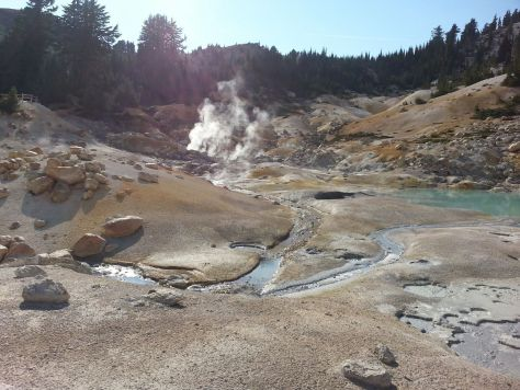 After lunch we went to Bumpass Hell