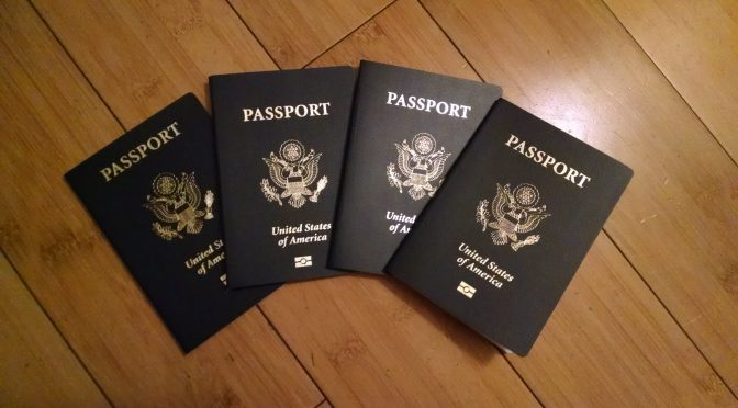 Mini Retirement Monthly Update: Passports? Yes, please!