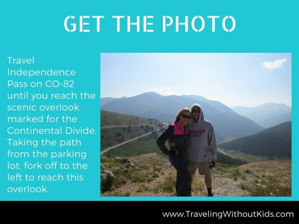 Get the Photo - Continental Divide on Independence Pass