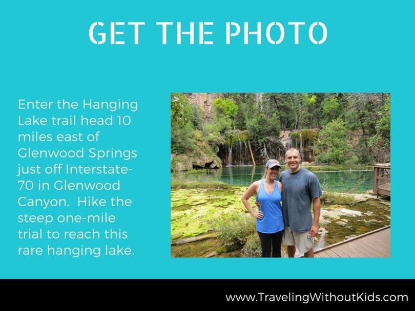 Get the Photo - Hanging Lake