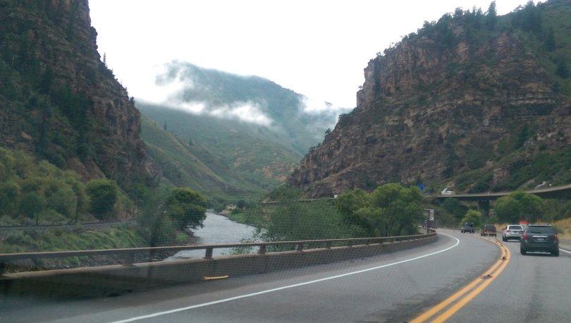 Glenwood Canyon, Colorado, travel