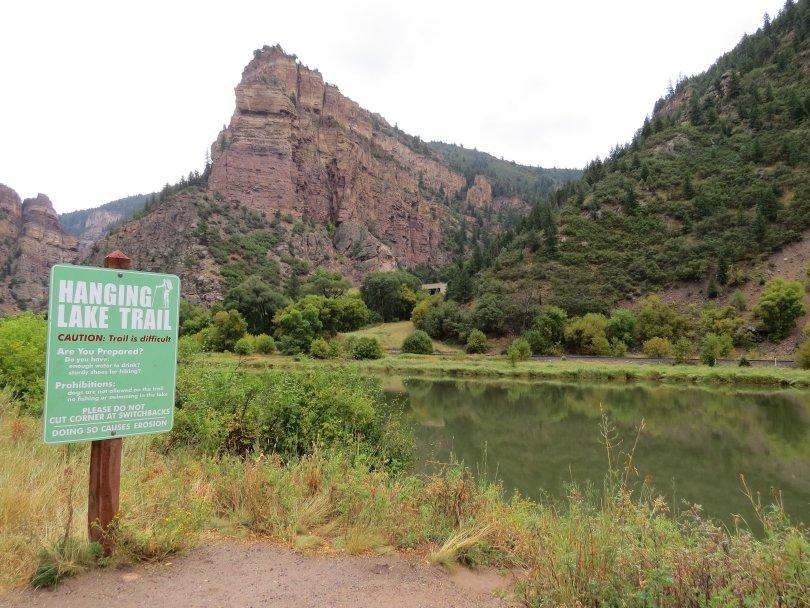 Hanging Lake, Colorado trail head
