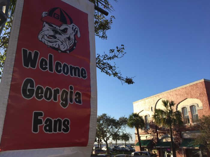 Itinerary for Georgia Bulldog fans staying on Amelia Island for Georgia-Florida game