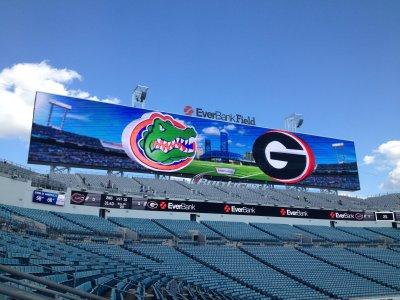 Florida-Georgia game at Everbank Field.