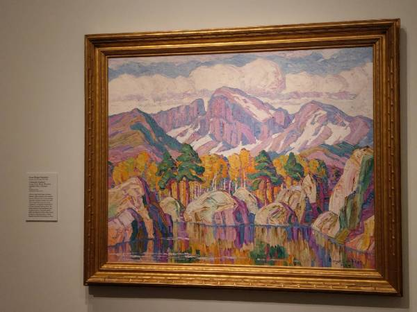 "Sven Birger Sandzen ""A Mountain Symphony,"" Denver Art Museum"