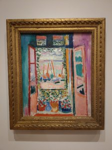 "Henri Matisse, ""Open Window, Colliure,"" National Gallery of Art."