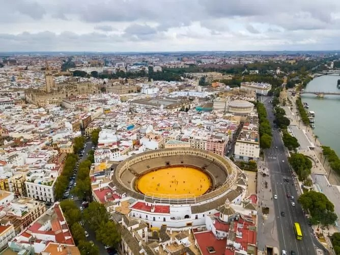 Bull Arena Sevilla Spain - Seville Tourist Guide   Best Places To Visit in Seville, Spain