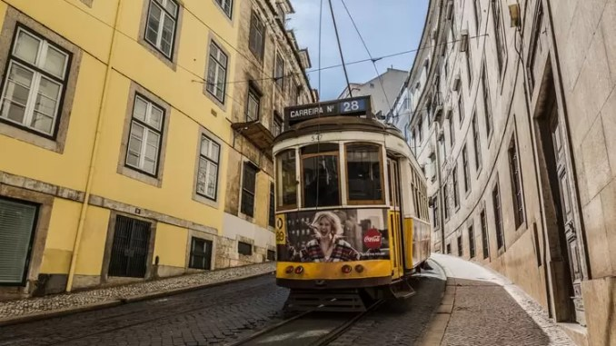 The Number 28 Tram 678x381 - Places to Visit in Lisbon, Portugal
