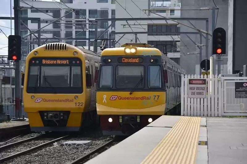 brisbane rail - Brisbane Travel Guide