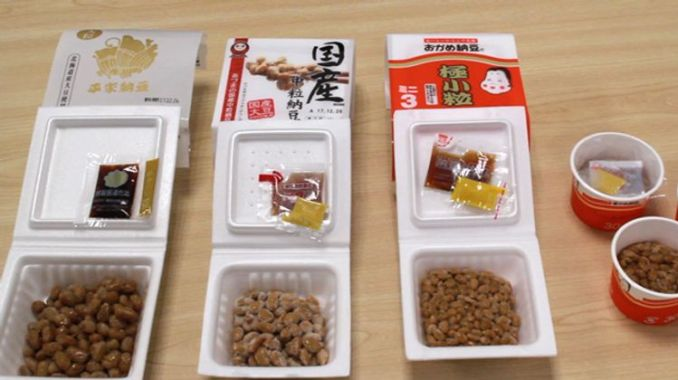 """Natto is a fermented food made by fermenting soybeans using bacteria called """"Bacillus subtilis""""."""
