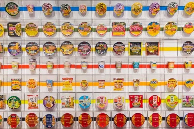 Tokyo travel guide - Cup Noodles Museum Osaka