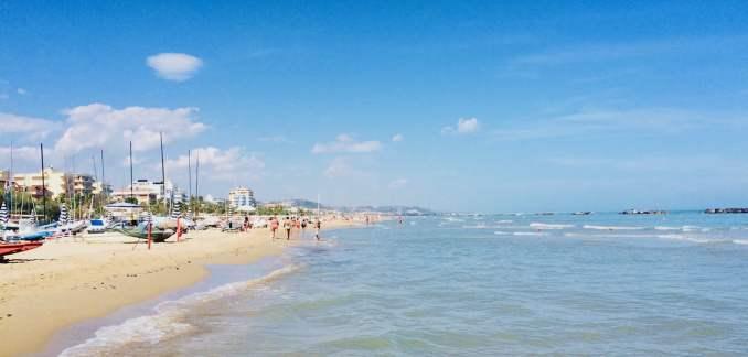 San Benedetto del Tronto, beach
