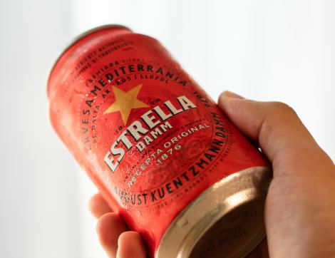 Estrella Damm as one of the best beers in Europe