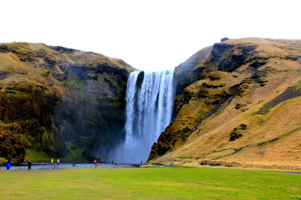 The Amazing Skogafoss
