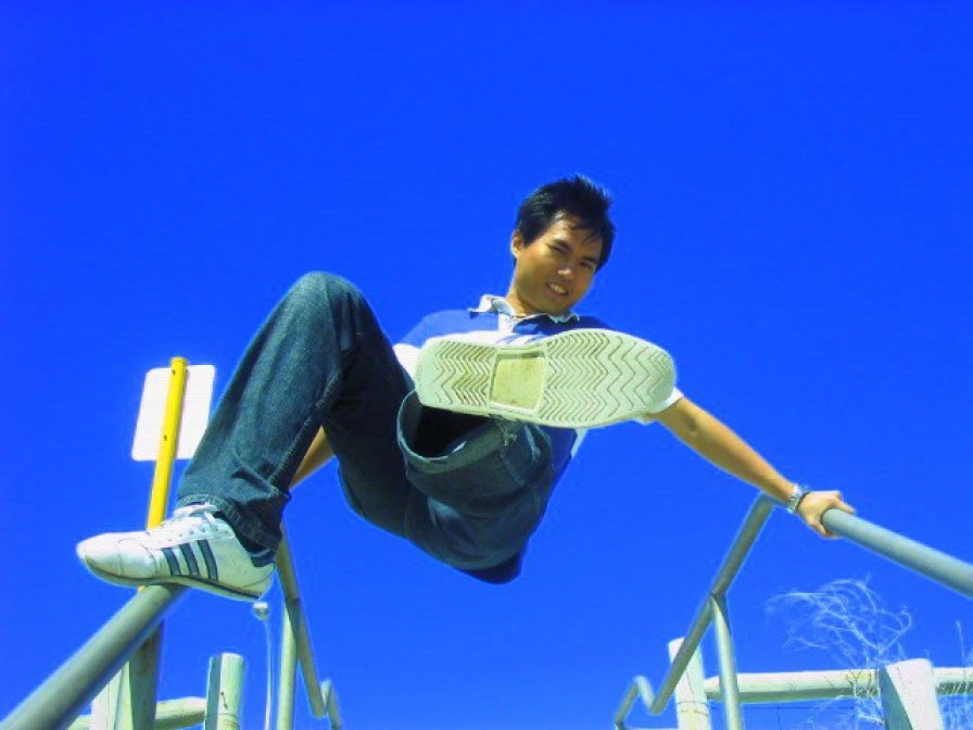 My very first jump shot @ Perth, Australia in 2005