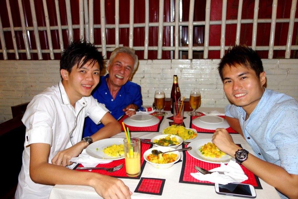 With Sami Super (American) in Siem Reap, Cambodia