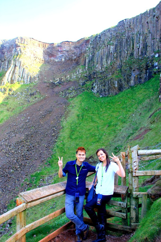 With Jaime (American) in Northern Ireland (First Time Solo Traveling)
