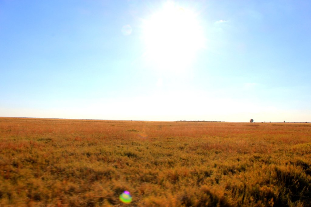 The large plain with no one