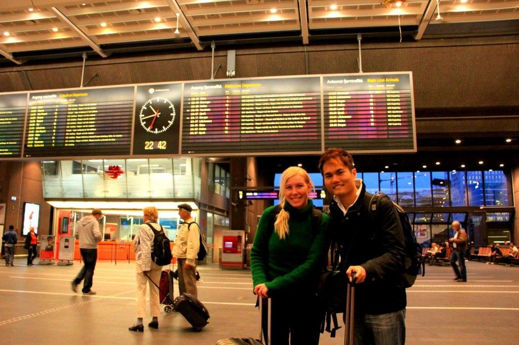 With Ingunn (Norwegian) in Oslo, Norway