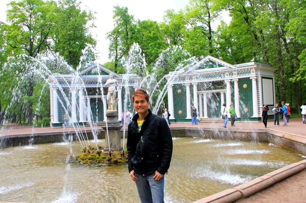 Fountain at Peterhof Garden