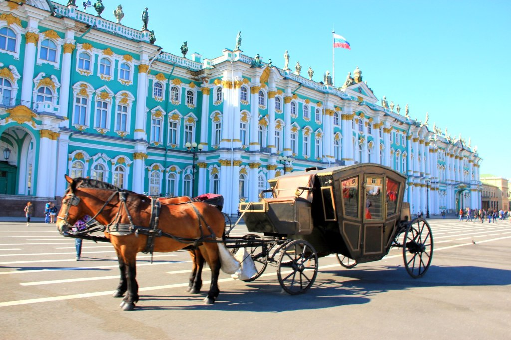 Horse Carriage at Palace Square